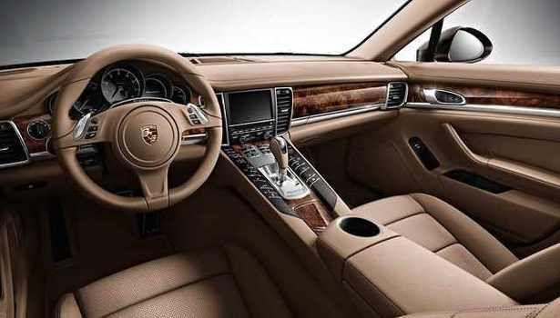 Porsche panamera 2016 interior