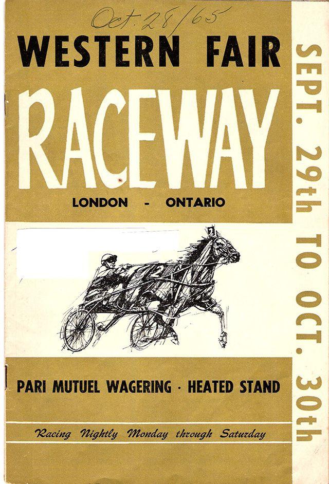 Western Fair Raceway Race Schedule