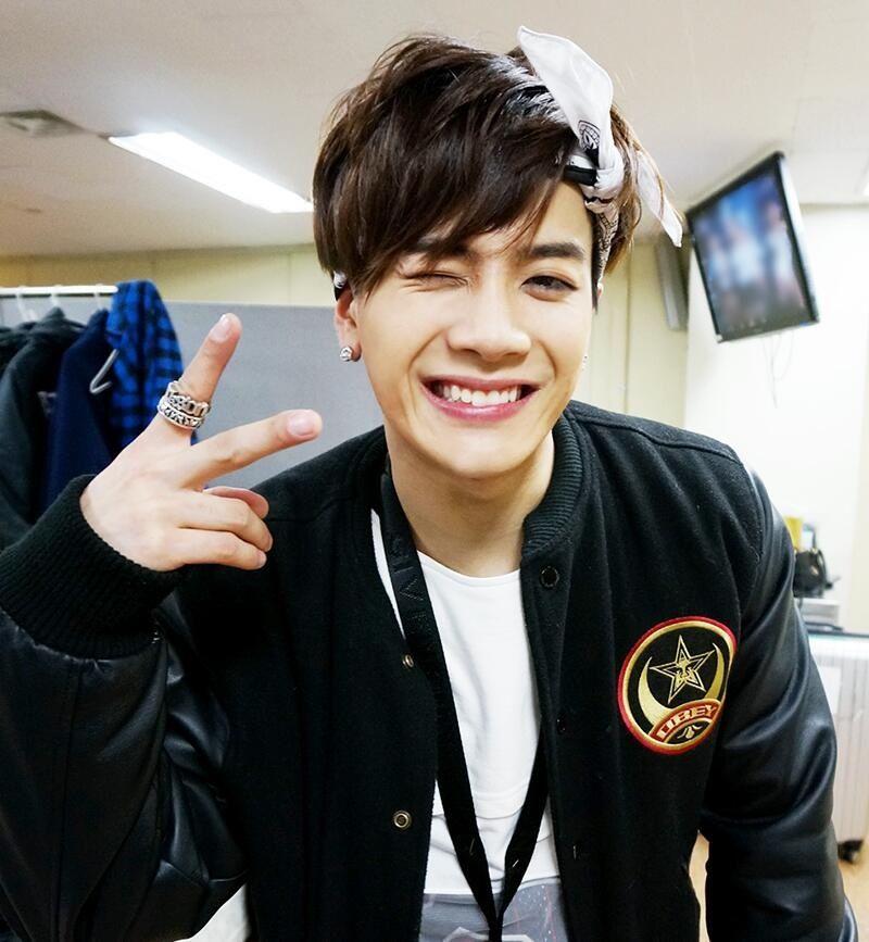 His Smile 3 Jackson Got7 Kpop 1stbias Jyp Cute Cutie Handsome Got7 Jackson Jackson Wang Jackson
