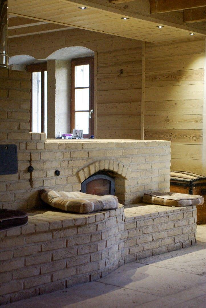 poele a bois cuisini re de masse poele de masse poele a inertie poele a accumulation. Black Bedroom Furniture Sets. Home Design Ideas