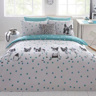 Ben de lisi home designer white dotty about dogs bedding set at ben de lisi home designer white dotty about dogs bedding set at debenhams gumiabroncs Choice Image
