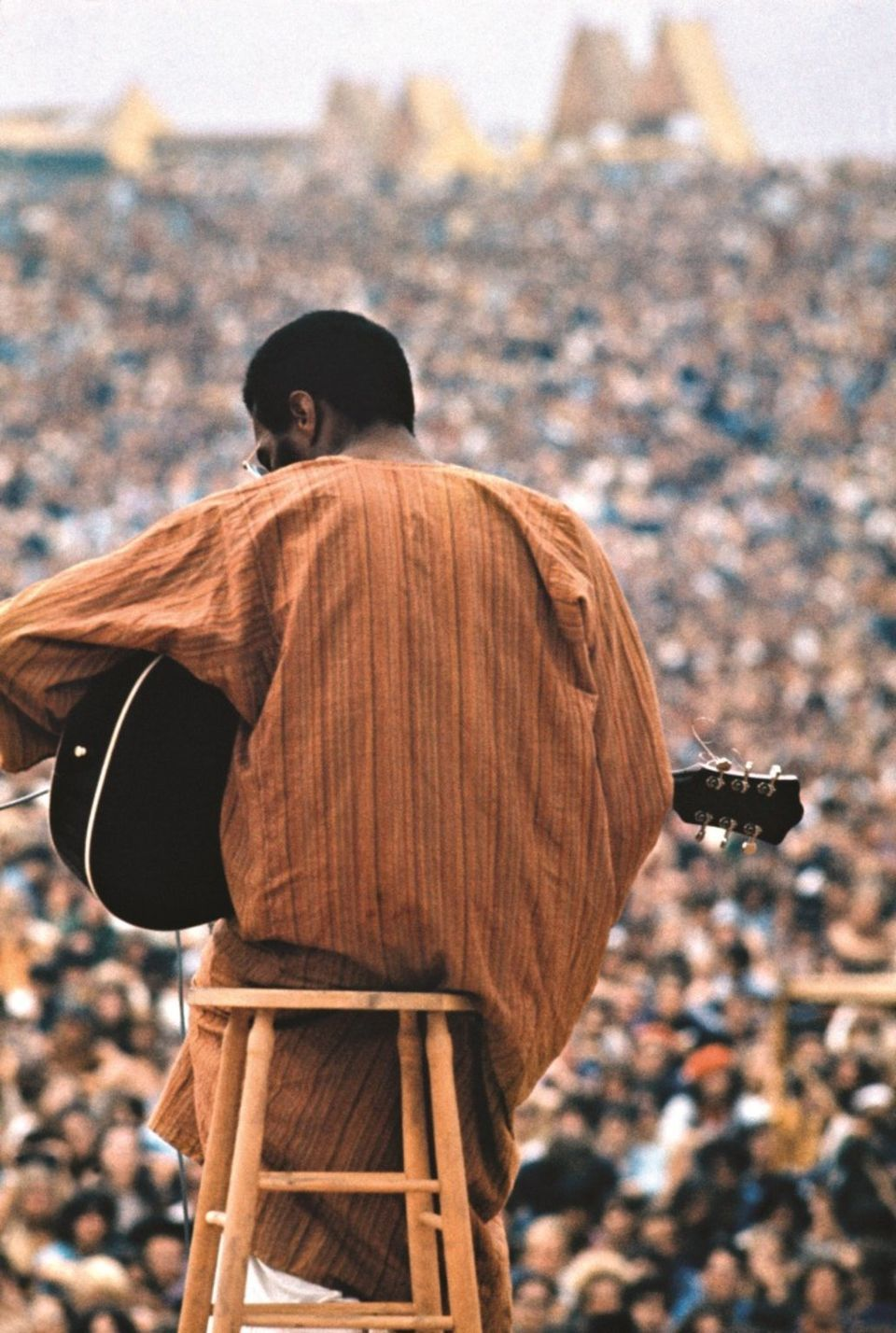 Richie Havens At Woodstock C Elliott Landy 1969 Richie Havens At
