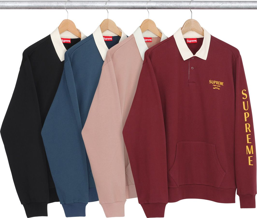 ca03eba46e8c Supreme Rugby Sweatshirt