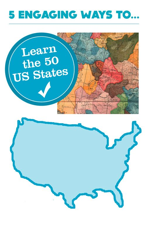 Kids Guide To Learning The U S States