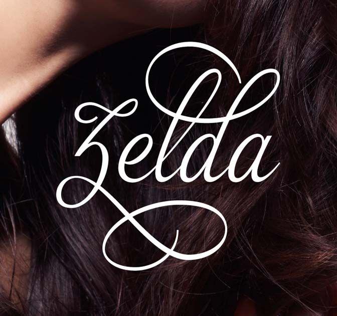 Zelda Font A Beautiful And Classy Script Font Mightydeals Script Fonts Free Script Fonts Photography Trends