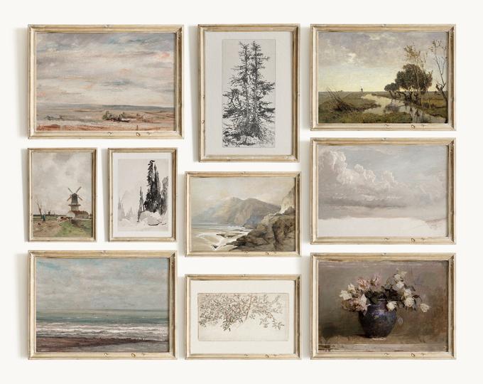 Printable Vintage Wall Art By Northprints On Etsy In 2020 Gallery Wall Prints Gallery Wall Wall Prints