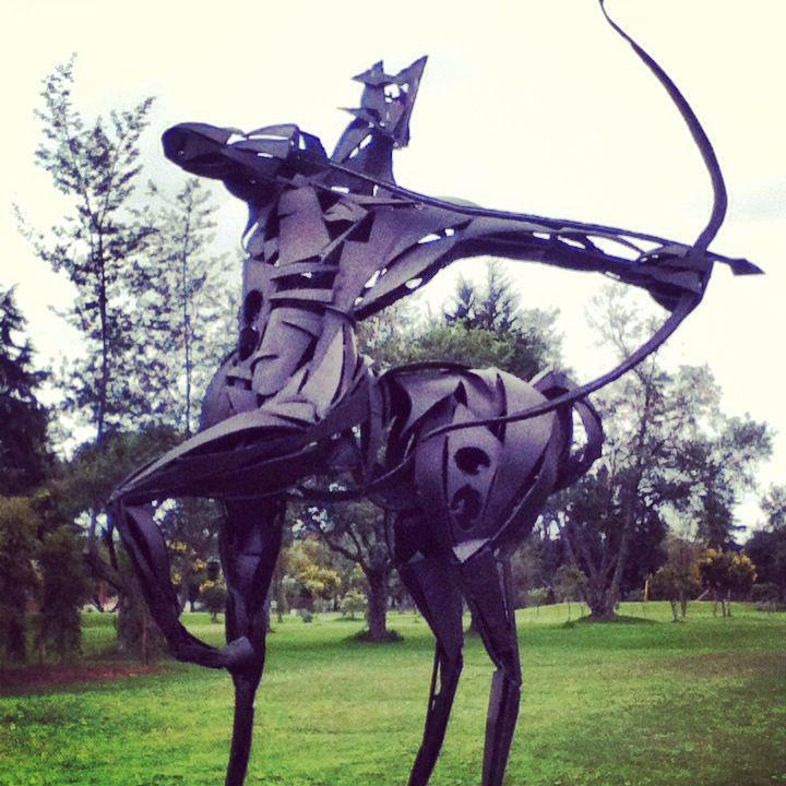 Arco y flecha ( camino por el parque ) | Arquería | Pinterest | Los ...