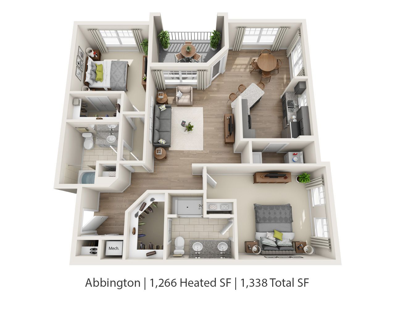 Our two bedroom apartments both the abbington pictured - Available two bedroom apartments ...