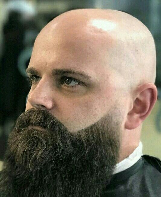 Pin By Simon Richards On A A Bald Or Shaved Bald Bald With Beard Bald Men With Beards Beard Fade