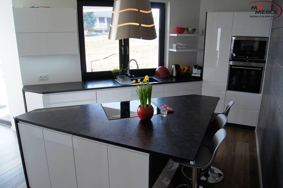 Trojkatna Wyspa W Kuchni Realizacja Msmeble Kitchen Home Decor Decor