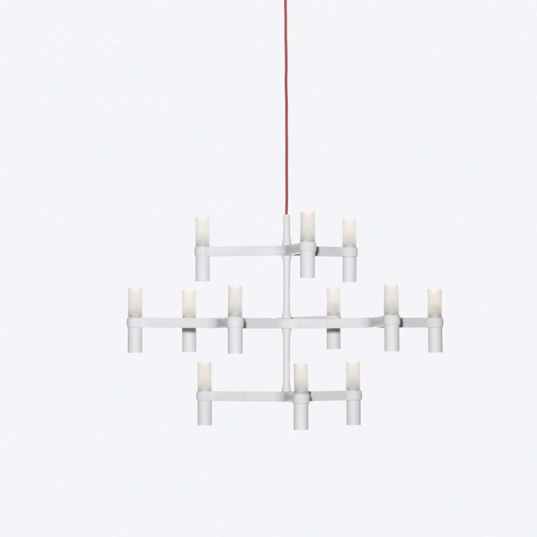 Nemo Cassina Lighting | Crown Minor 12 Light Pendant Lights ...