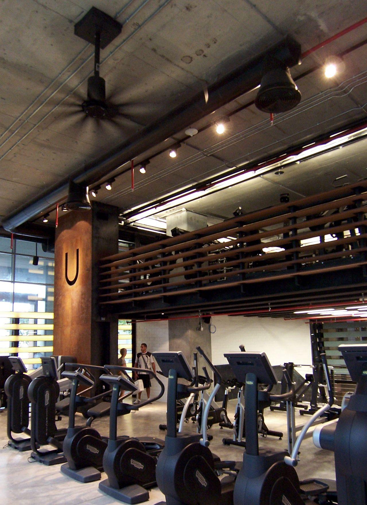 Table Tennis Room Design: Uenergy Health Club / GAJ Architects