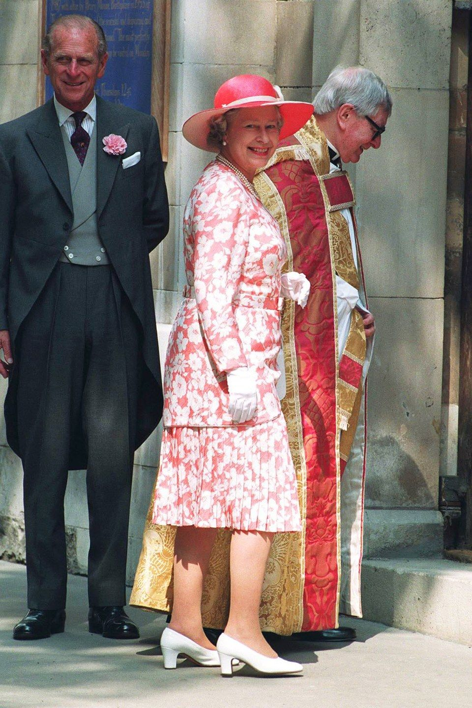 21 Times Queen Elizabeth Wore Exactly The Right Thing To A Wedding Queen Elizabeth Ii Wedding Queen Elizabeth Her Majesty The Queen [ 1440 x 960 Pixel ]