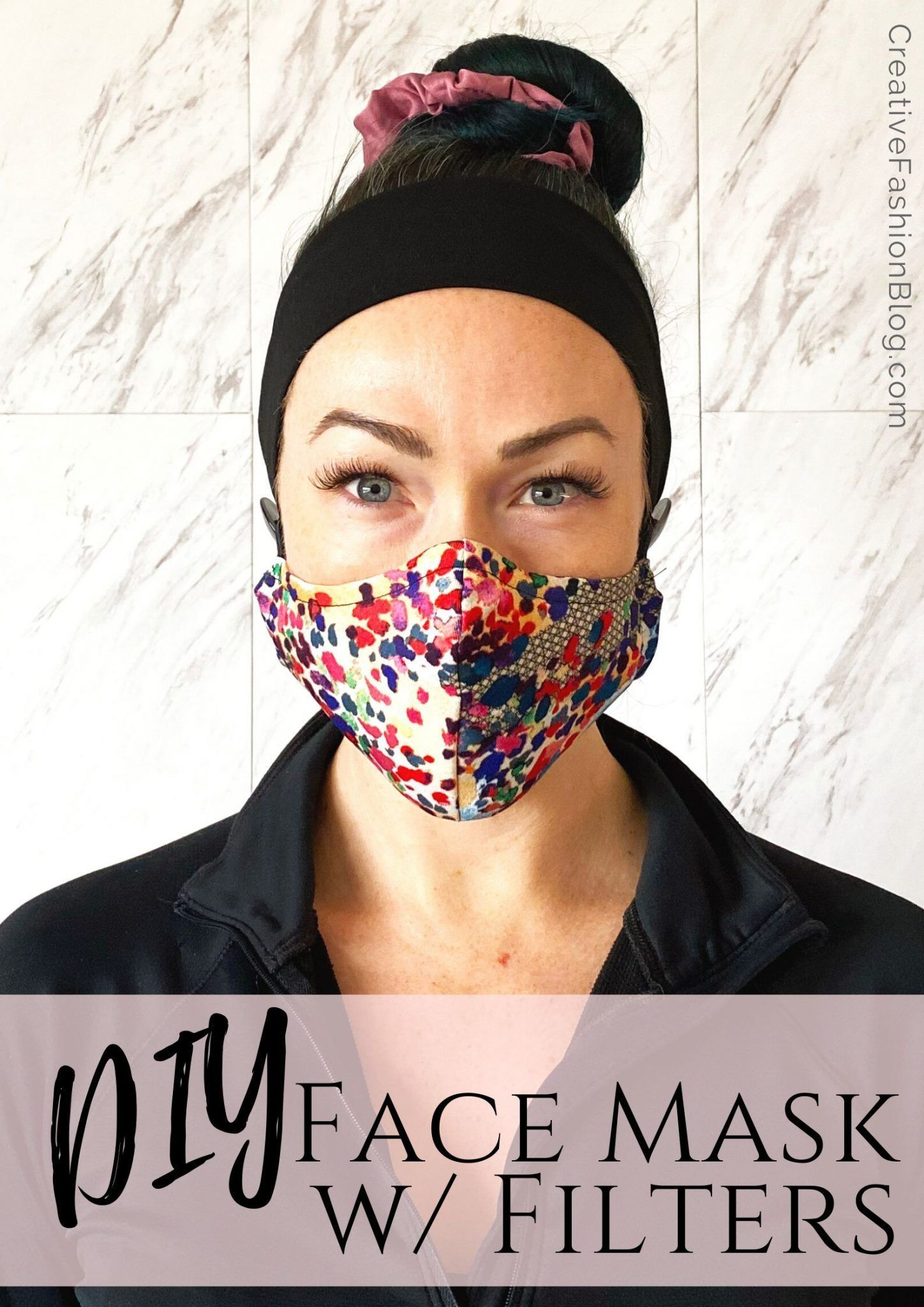 How To Make A Face Mask With HEPA Filter . A Printable