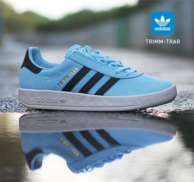 adidas Originals Trimm-Trab: Blue/Black/White