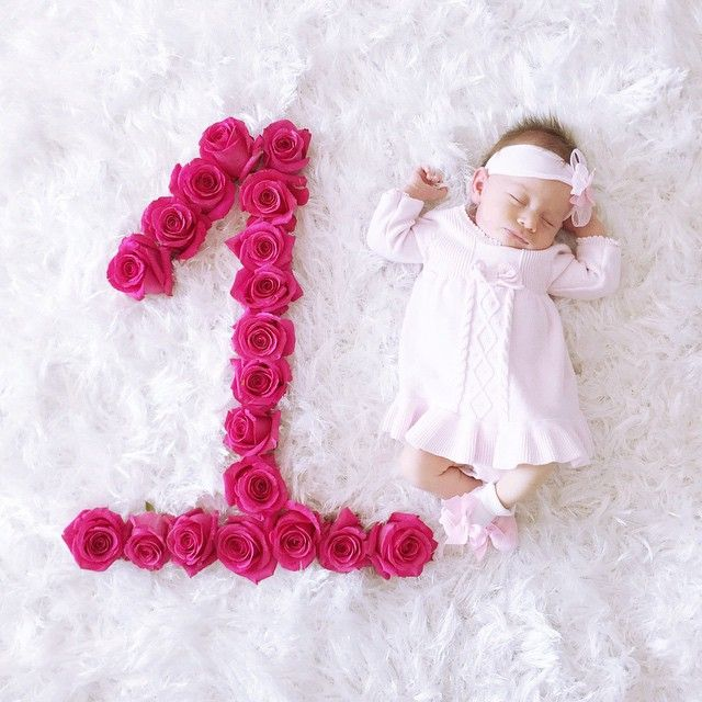 1e6ab3acf How is she already 1 month old  She is getting so big so fast! I ...
