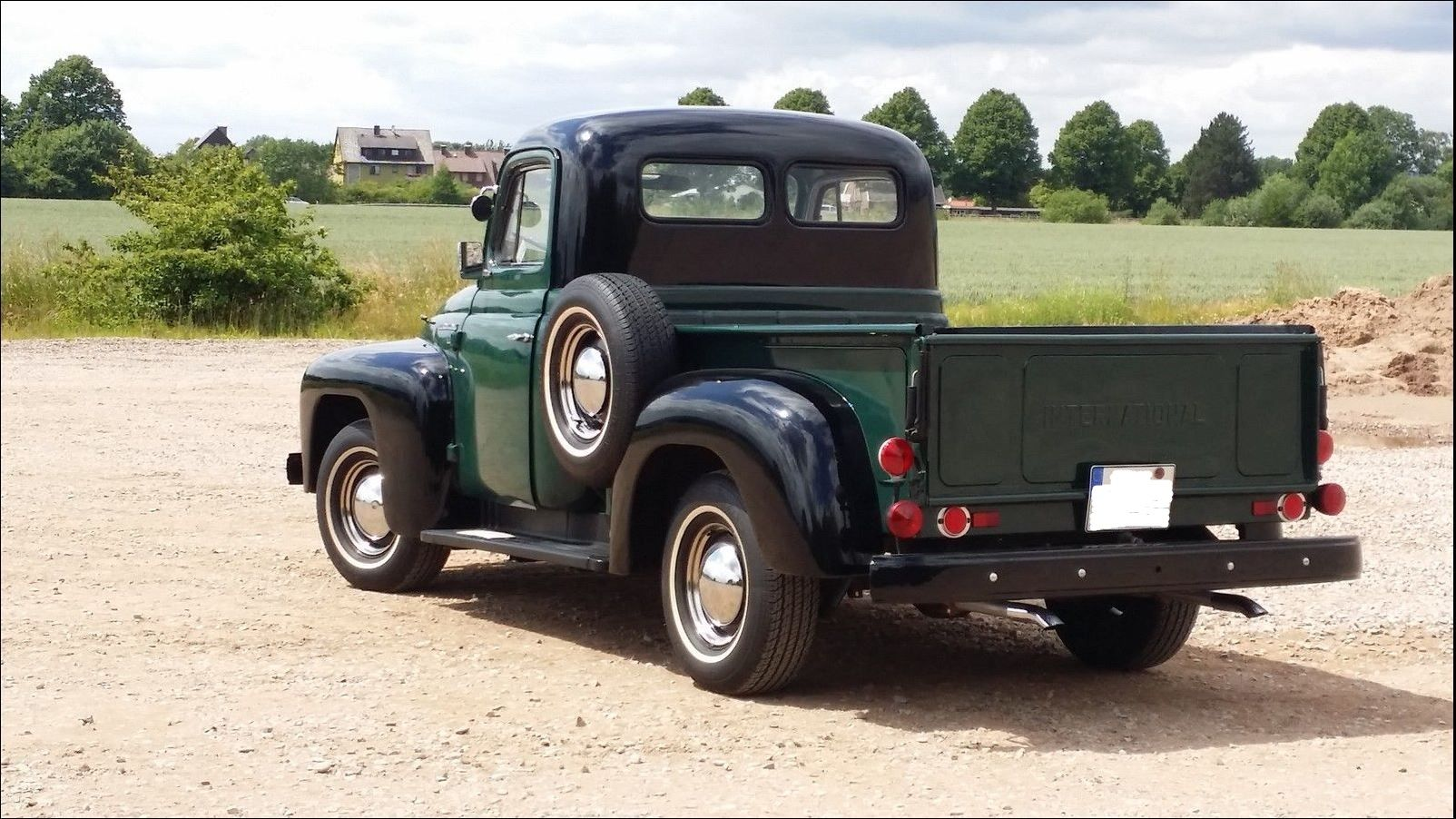 IHC L110, Baujahr 1952 Motor truck, International truck