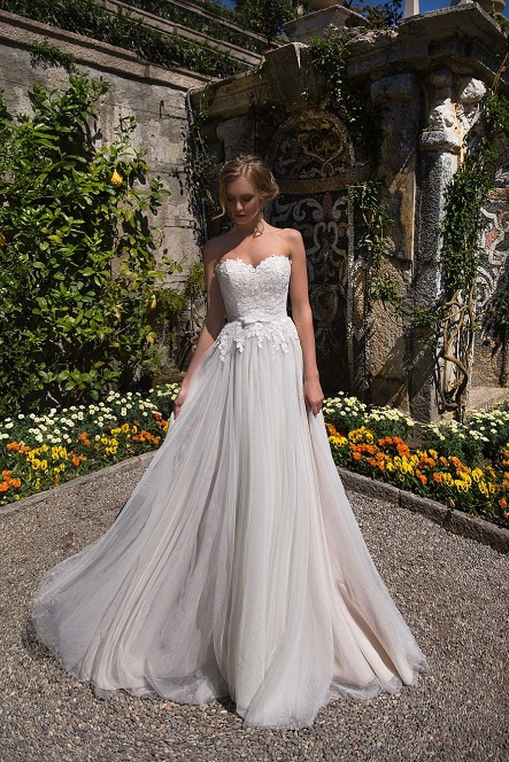 56 Beautiful Pastel Wedding Gowns Design Ideas | Gowns, Wedding ...