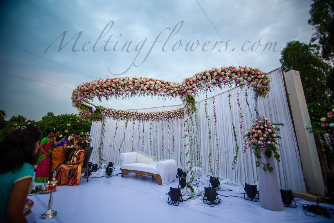Simple Christian Wedding Decoration Collection Wedding Stage