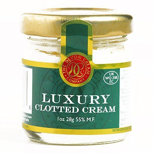 Fun & Unique Jams and Spreads from Around the World! Devon Luxury Clotted Cream 1 oz each (2 Items Per Order, not per case)  Any true or honorary Brit knows: Devon Luxury Clotted Cream is a dessert must – have Crafted from the fresh milk of Devonshire cows, this English clotted cream... more details available at https://perfect-gifts.bestselleroutlets.com/gifts-for-holidays/grocery-gourmet-food/product-review-for-devon-luxury-clotted-cream-1-oz-each-2-items-per-orde