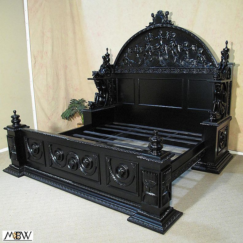 gothic bed on pinterest gothic bedroom gothic furniture and goth