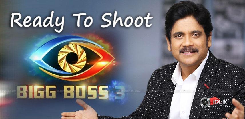 Akkineni Nagarjuna All Set To Shoot For Promos Of Bigg Boss 3 Boss Foreign Film Actors