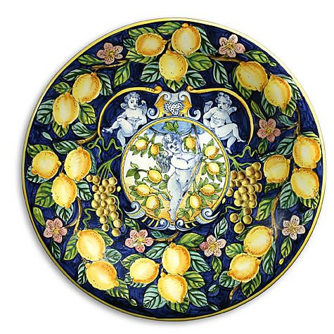 Lemon Majolica Wall Plate - #Tuscan #Home #Design - Find More Decor ...
