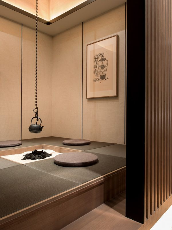 Guo The Ocean 2 Japanese Tea House Japanese Interior Design Japanese Interior