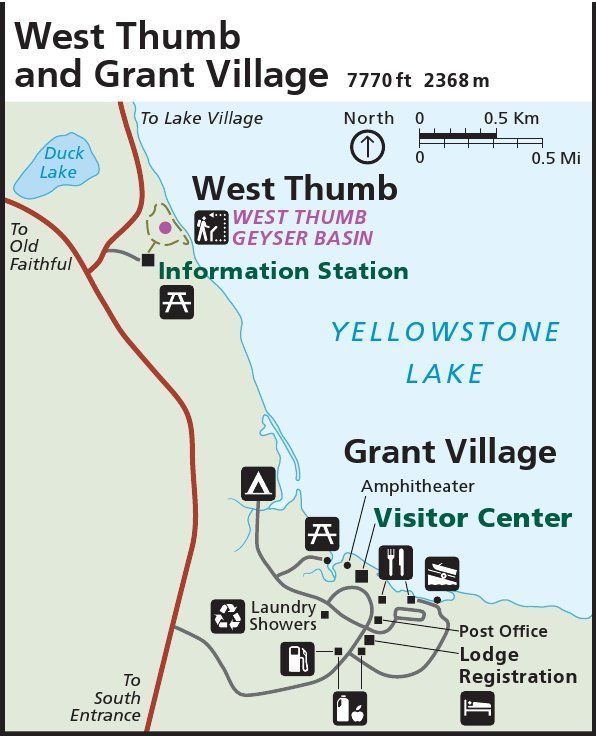yellowstonewestthumbgrantvillagemapjpg 596736