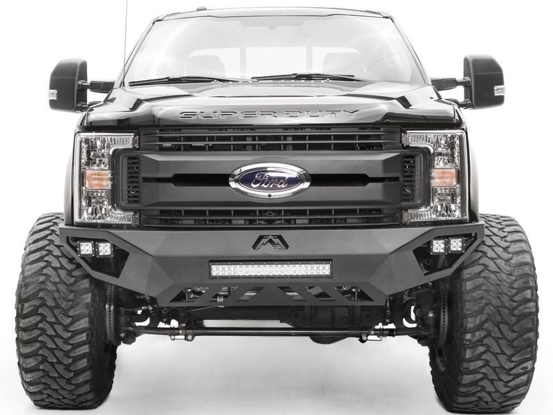 2019 Ford F350 Fab Fours Vengeance Front Bumper Trucks