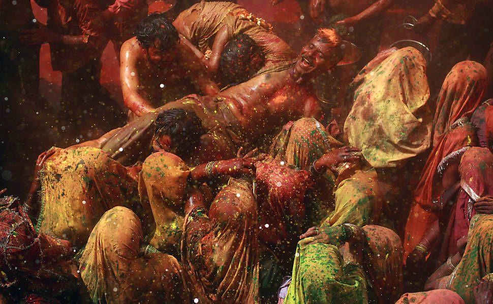 Festival das cores (Índia)