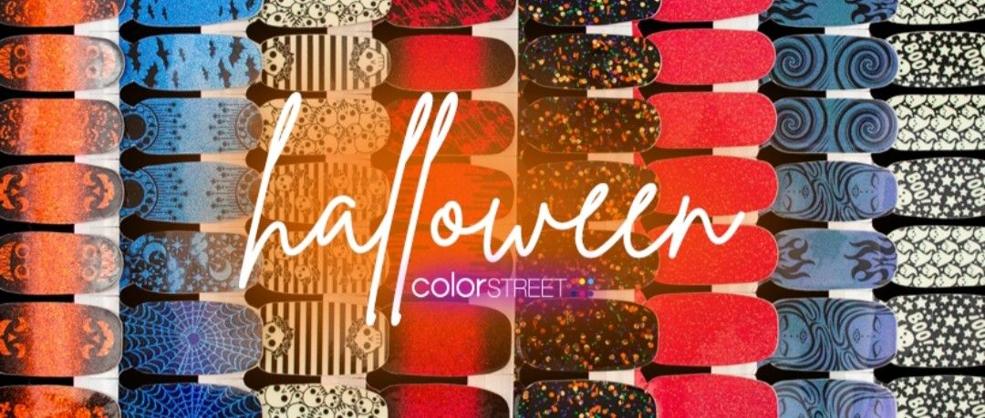 ColorStreet Halloween 2019 New Shades! Get urs TODAY