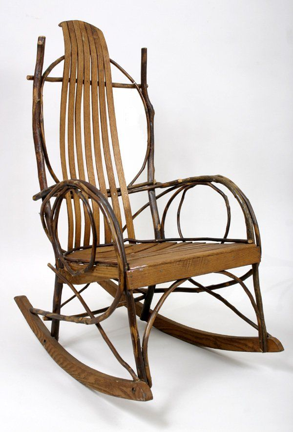 Delightful Amish Willow Rocking Chair, I So Want One For My Living Room.