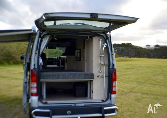 Toyota Hiace Campervan New Bed Seat Conversion Road Trip