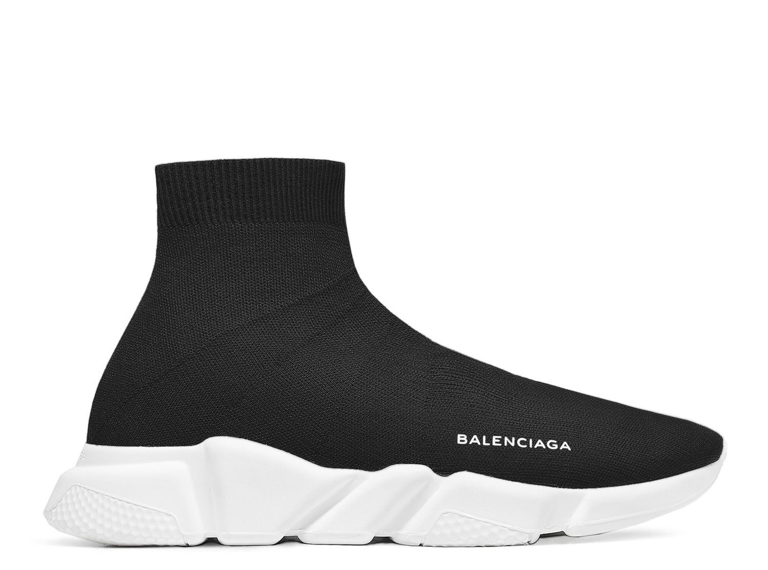 mens black balenciaga