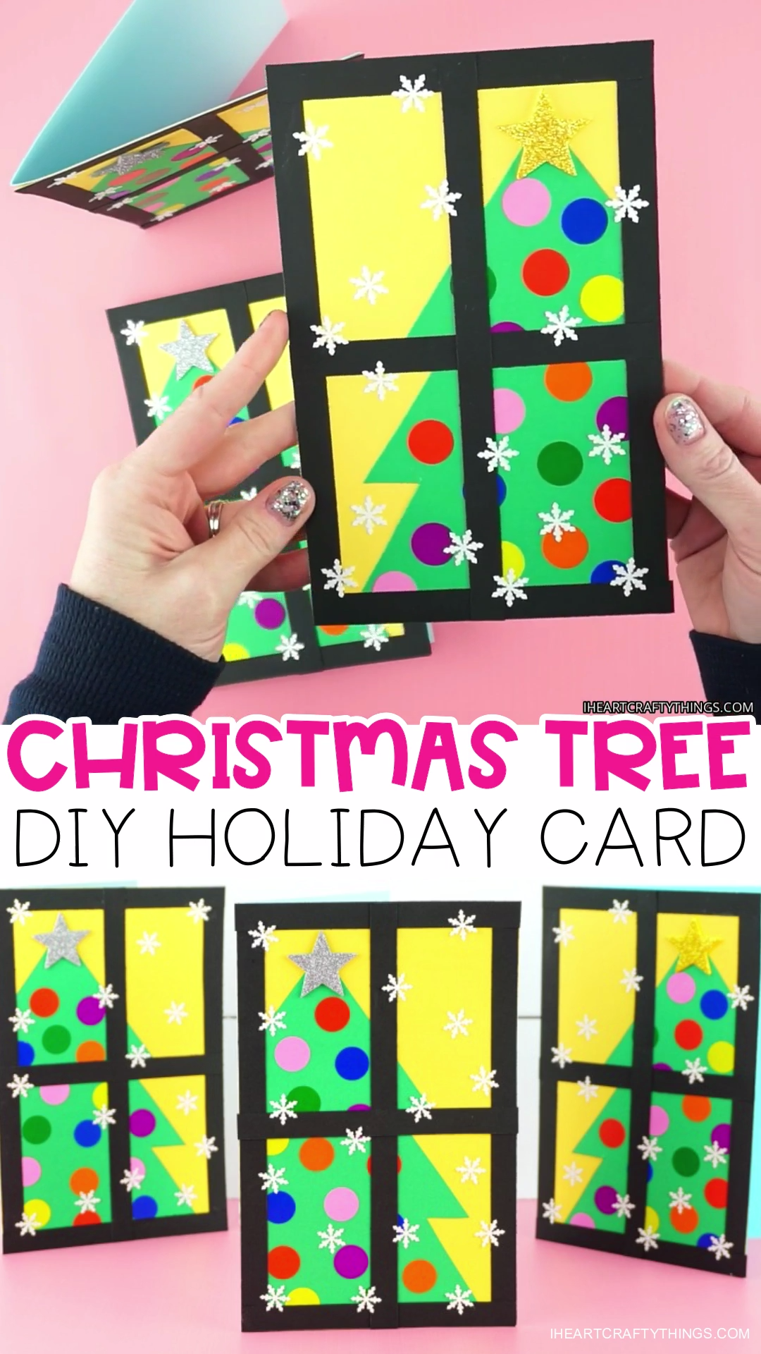 How to Make a Gorgeous Christmas Tree Card