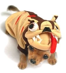 Mad Dog #Dog #Costume with big teeth and scary eyes. $34.99