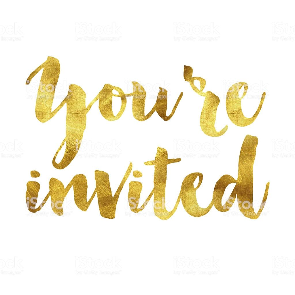 Your E Invited Gold Foil Message Youre Invited Invitations Birthday Invitations Kids