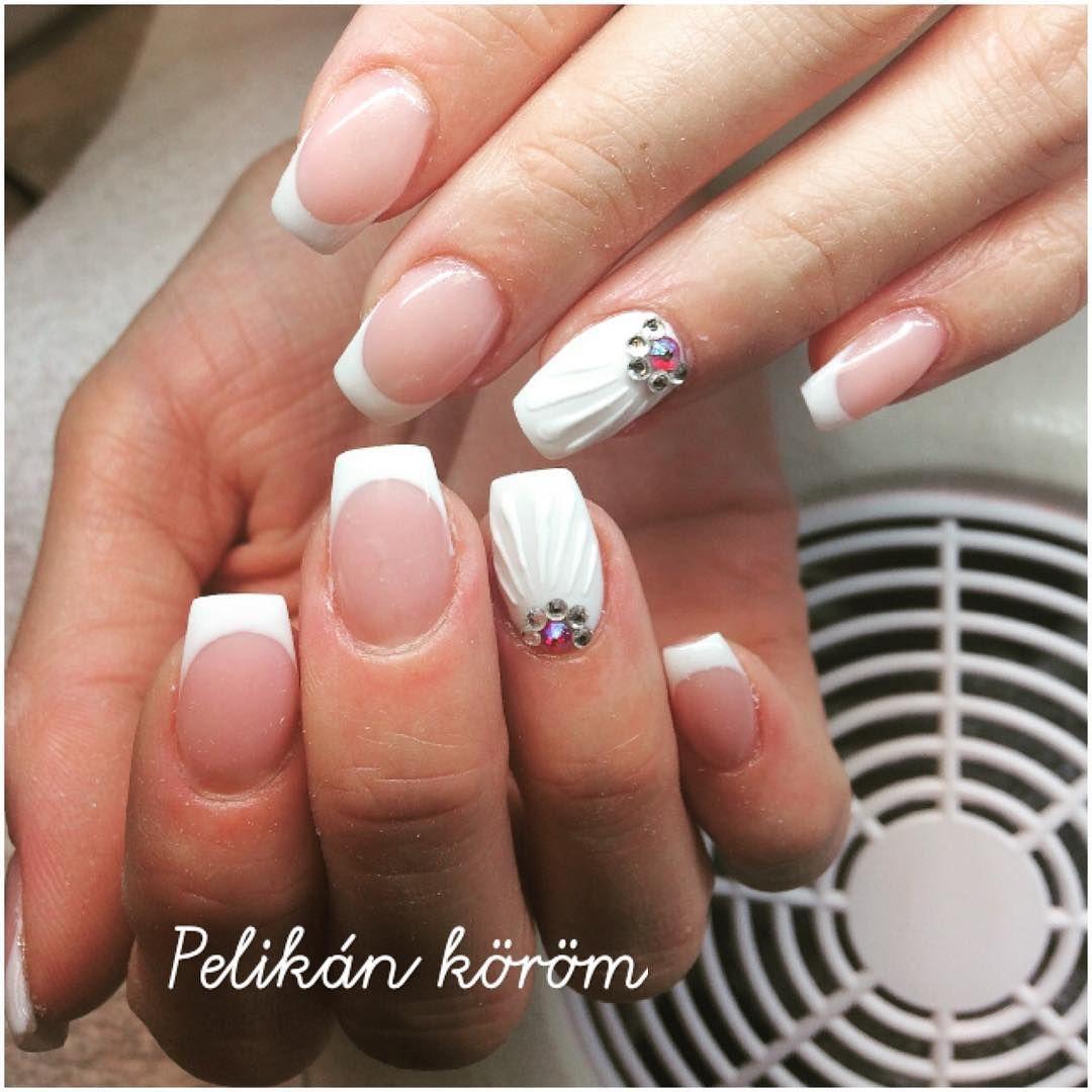 Seashell Acrylic Nails Seashellnails Acrylic Nails Nails Seashell Nails