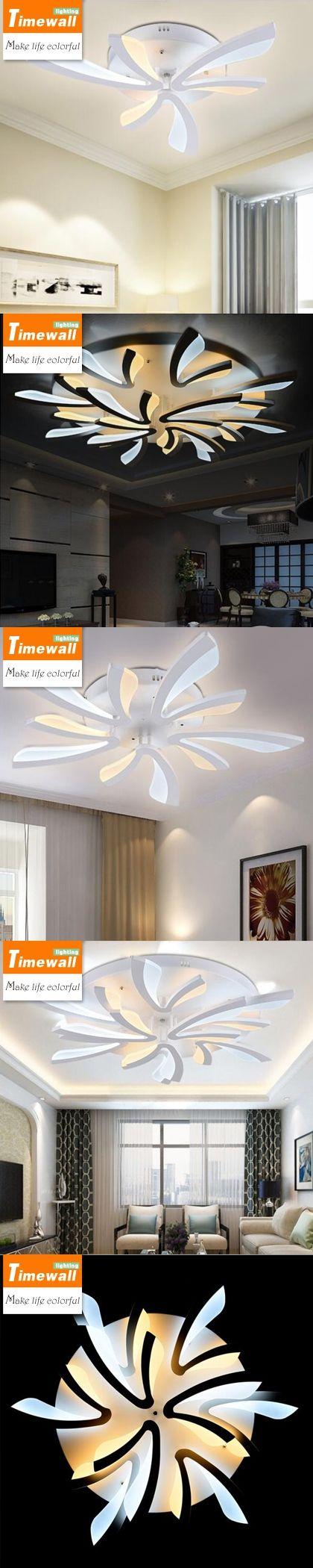 Dandelion led living room ceiling lighting modern minimalist bedroom ...