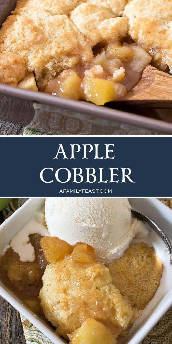 Apple Cobbler - A Family Feast®