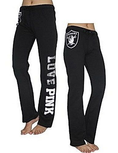 Oakland Raiders Ladies Football Sweatpants with Pockets