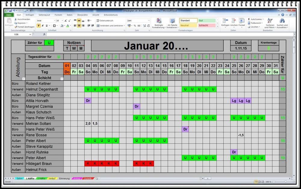 Excel Urlaubsplaner 2018 2019 U S W Urlaubskalender Personalplaner Dienstplaner Schichtplan Urlaubsplan Mit Statis Excel Vorlage Vorlagen Billig Urlaub Machen