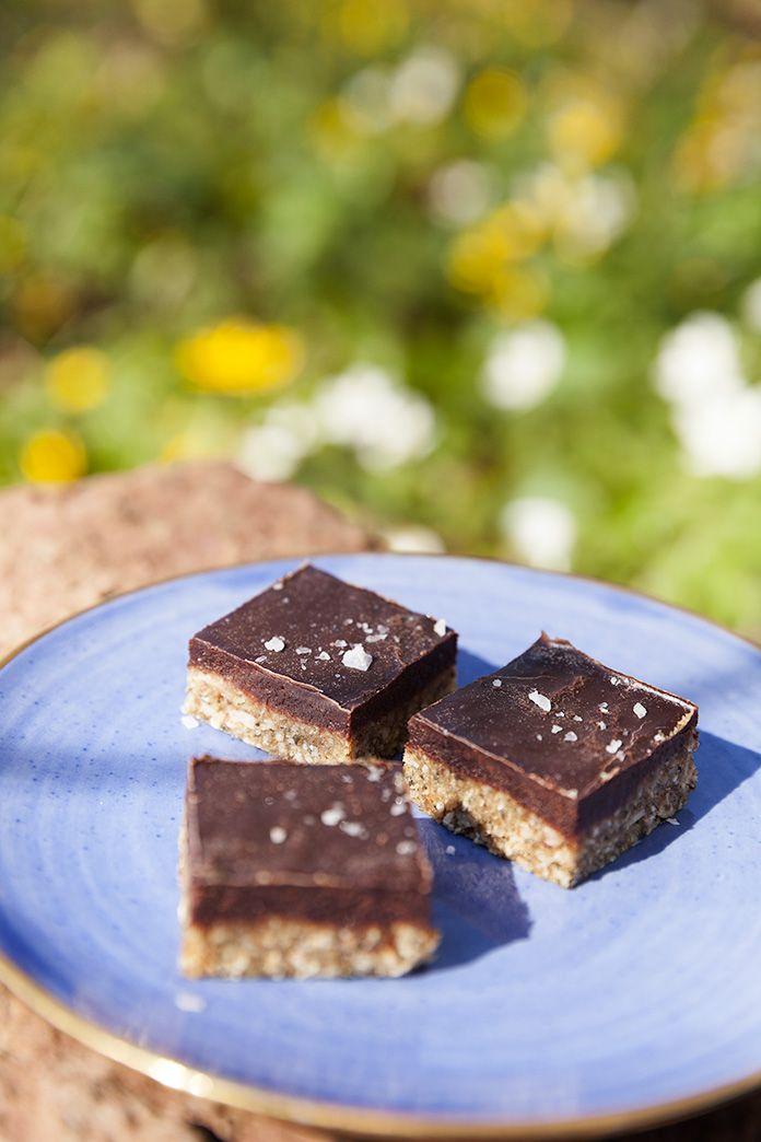 Kommer ni ihåg raw food-godiset salty caramel som jag la ut på bloggen i våras? Ni var jättemånga som lagade det och tyckte om det, och ...