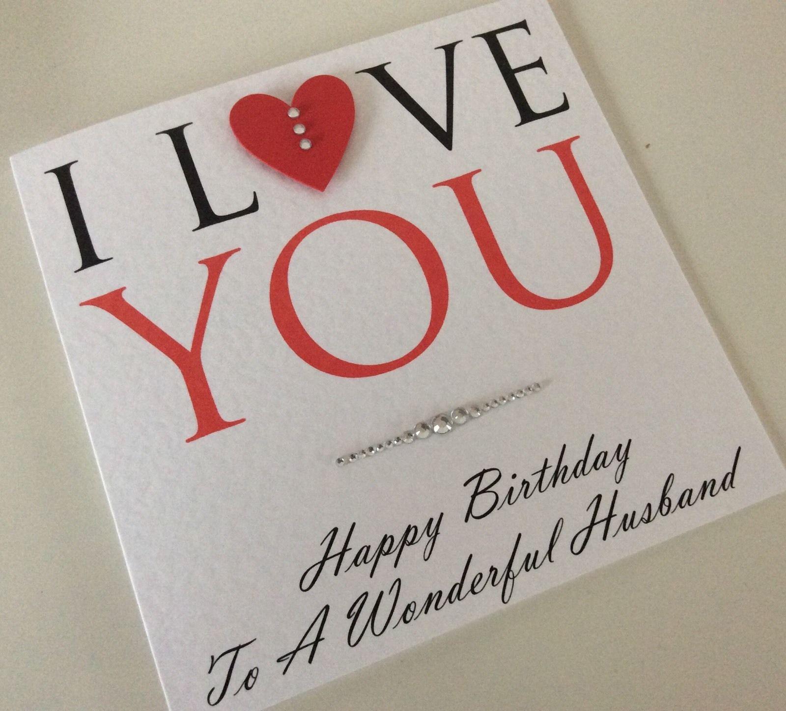 gbp personalised handmade anniversary card husband wife