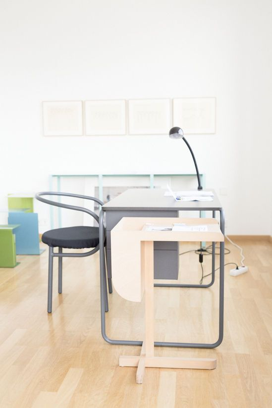 Konstantin Grcic / Midtown Project Chair For Muji | Pipe Desk For  Muji Thonet |