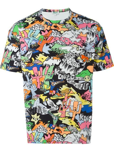 64637fa43 KENZO 'Landscape' T-Shirt. #kenzo #cloth #t-shirt | Kenzo Men ...