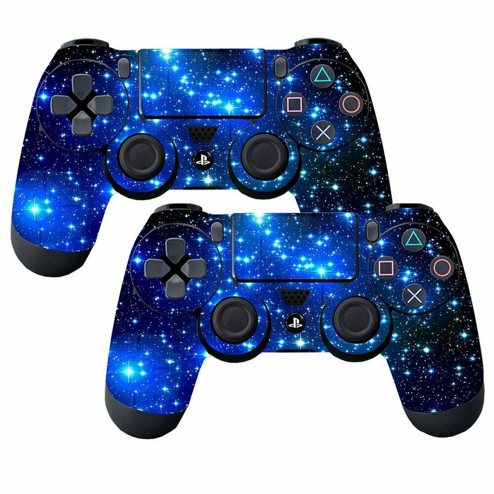 Subclap 2 Packs Ps4 Controller Skin Vinyl Decal Sticker Cover For Sony Playstat Ps4 Gaming Video Ps4 Playstation Ps4 Controller Skin