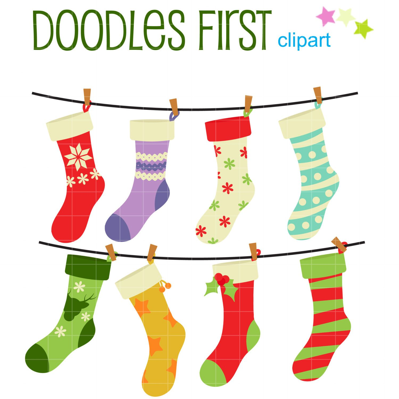 christmas stockings digital clip art for scrapbooking card making rh pinterest co uk free printable clipart for scrapbooking cute clipart for scrapbooking