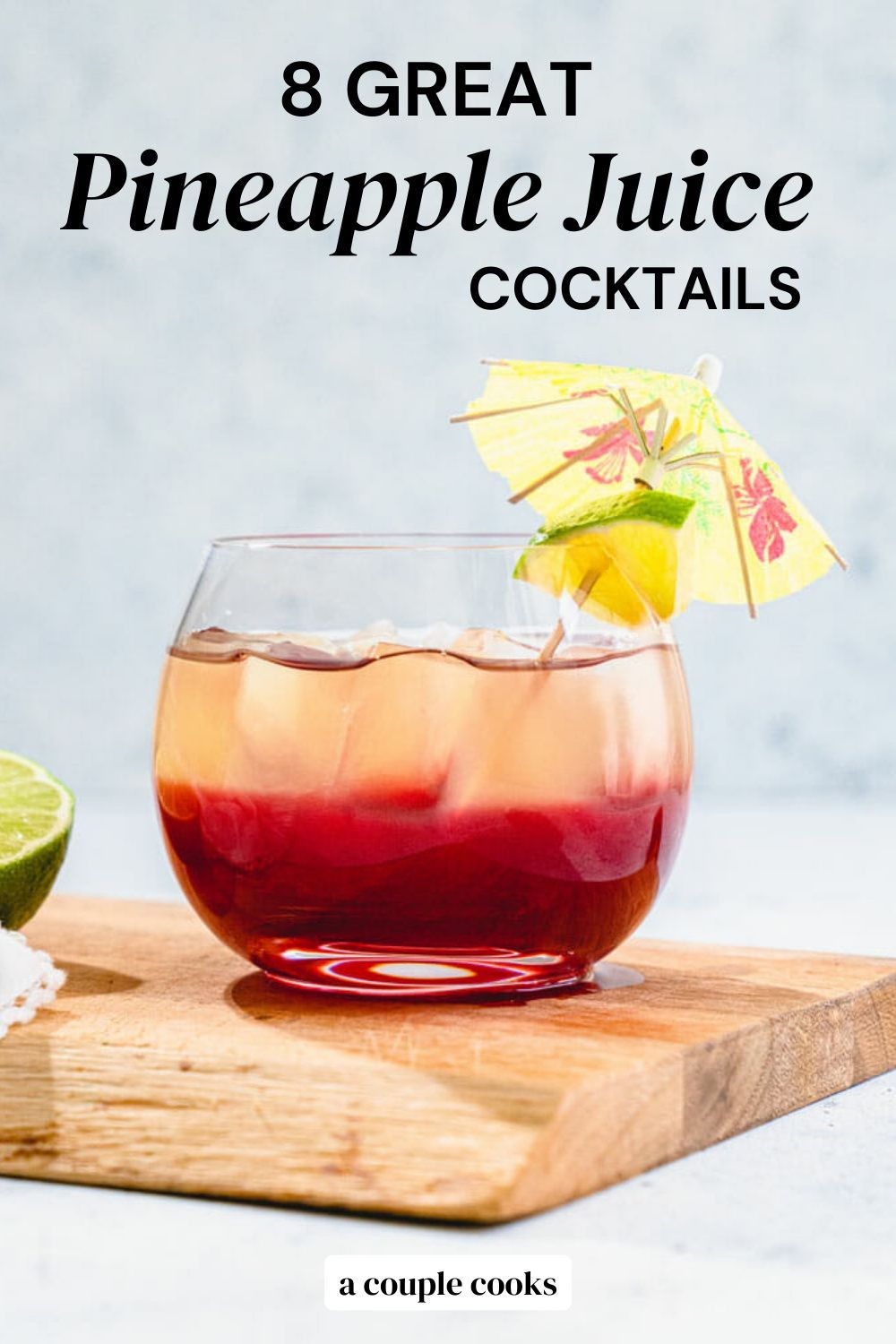 10 Great Pineapple Juice Cocktails A Couple Cooks Recipe Pineapple Cocktail Recipes Pineapple Cocktail Cranberry Cocktail Recipe